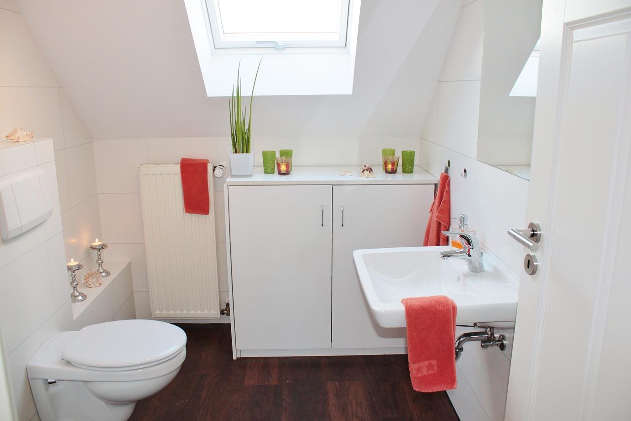 washroom in a house